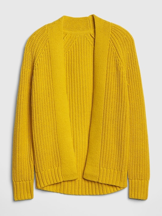 Kids Textured-Knit Cardi Sweater