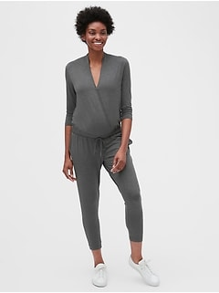 Maternity Wrap Jumpsuit