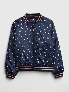 Kids Star Bomber Jacket