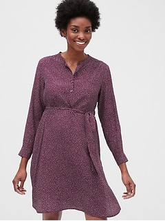 Maternity Shirtdress