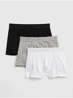 "3"" Boxer Brief Trunks (3-Pack)"
