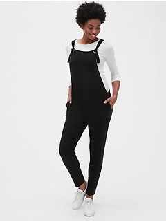 Maternity Knit Overalls in TENCEL™