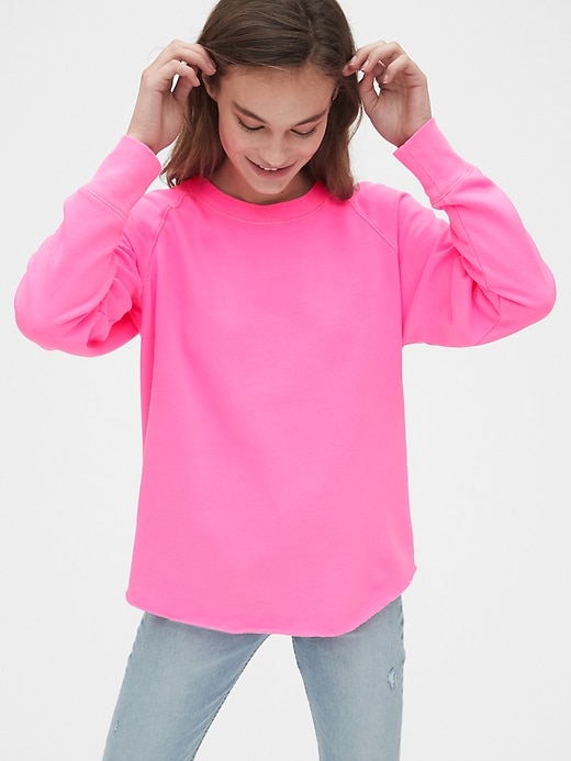 Vintage Soft Raglan Crewneck Sweatshirt by Gap