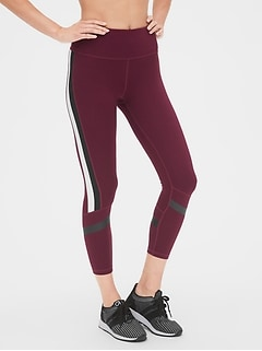 High Rise Blackout Colorblock Stripe 7/8 Leggings