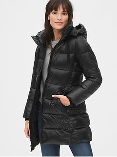 ColdControl Max Puffer Coat with Detachable Hood