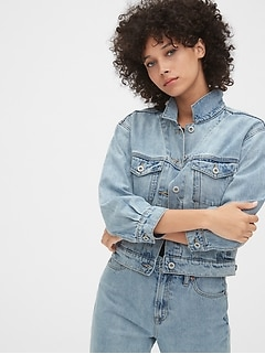 '90s Originals Crop Icon Denim Jacket
