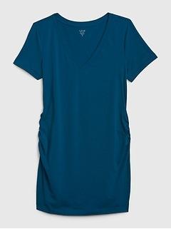 Maternity Pure Body V-Neck T-Shirt