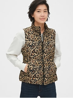 ColdControl Lightweight Print Puffer Vest