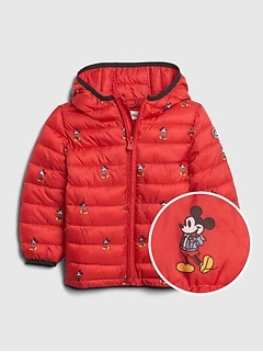 babyGap | Disney Mickey Mouse ColdControl Puffer