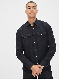 Selvedge Western Denim Shirt