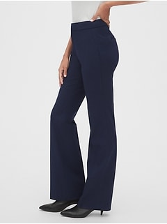 High Rise Curvy Slim Boot Pants