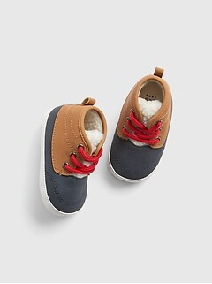 Baby Sherpa-Lined Duck Boots