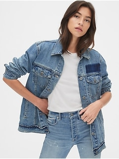 Oversized Icon Denim Jacket