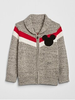 babyGap | Disney Mickey Mouse Zip Sweater