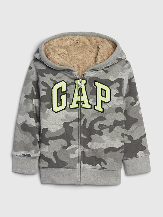 Toddler Gap Logo Sherpa Sweatshirt