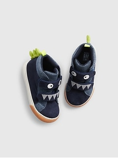 Toddler Dino Hi-Top Sneakers