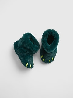 Kids Claw Slipper Booties