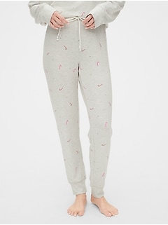 Supersoft Terry Print Joggers