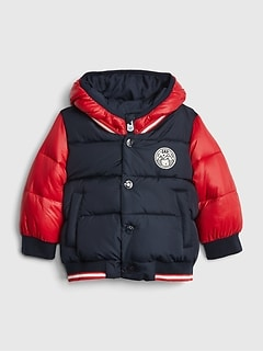 Baby ColdControl Max Varsity Puffer