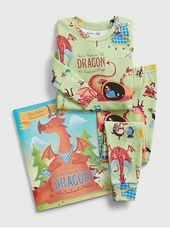 babyGap Books to Bed Dragon PJ Set