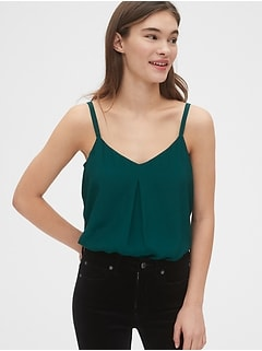 Satin Strappy Cami