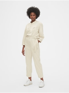 Utility Zip-Pocket Jumpsuit
