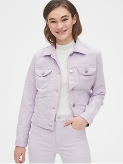 Crop Icon Cord Jacket