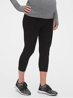 Maternity Low Rise Capri Leggings