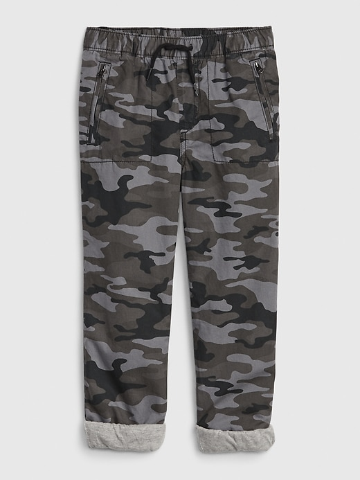 Kids Jersey-Lined Joggers