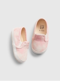 Baby Tie-Dye Slip-On Sneakers