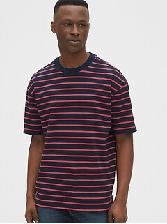 Easy Heavyweight Stripe T-Shirt