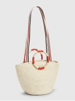 Mini Jute Tote Bag