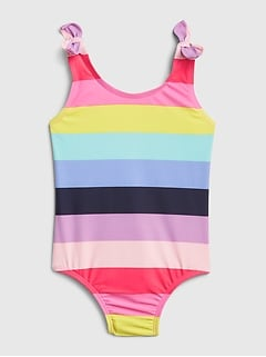 Toddler Stripe Swim One-Piece