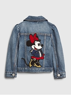 babyGap | Disney Minnie Mouse Denim Icon Jacket