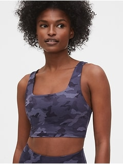 GapFit Eclipse Low Support Square-Neck Sports Bra