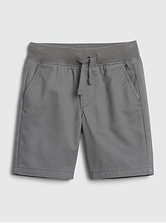 Toddler Twill Pull-On Shorts