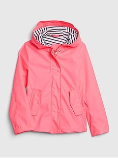 Kids Jersey-Lined Raincoat