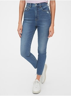 Sky High True Skinny Ankle Jeans