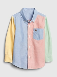 Toddler Brannan Bear Colorblock Shirt