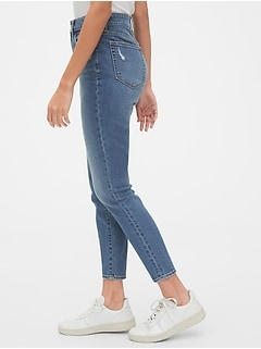 Sky High Curvy True Skinny Ankle Jeans with Secret Smoothing Pockets