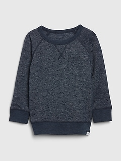 Toddler Pocket Crewneck Sweatshirt