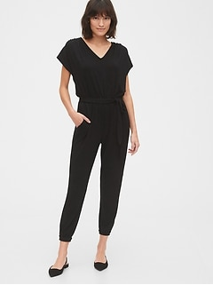 Softspun V-Neck Jumpsuit