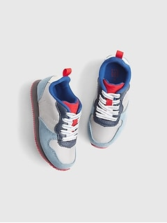 Toddler Retro Colorblock Sneakers