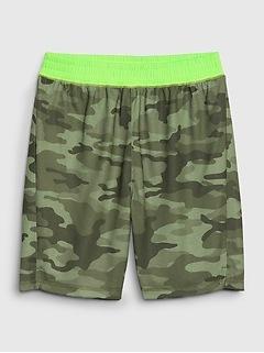 Kids Camo PJ Shorts
