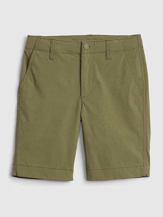 Kids Hybrid Tech Short with QuickDry
