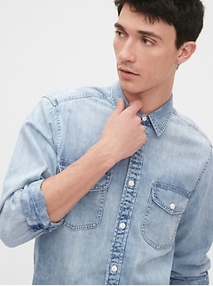 Denim Shirt in Standard Fit
