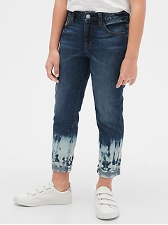 Kids Dip-Dye Girlfriend Jeans