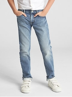 Kids Slim Jeans with Washwell™
