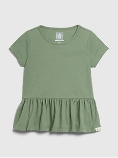 Toddler Mix and Match Ruffle Top