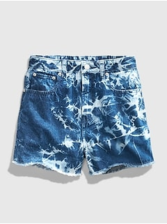 Teen Tie-Dye Denim Shorts